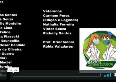 Vídeo de Prevenção: UME Florestan Fernandes