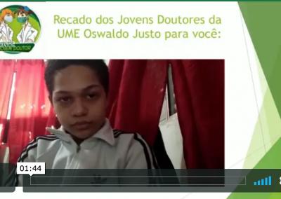 Vídeo de Prevenção: UME Oswaldo Justo