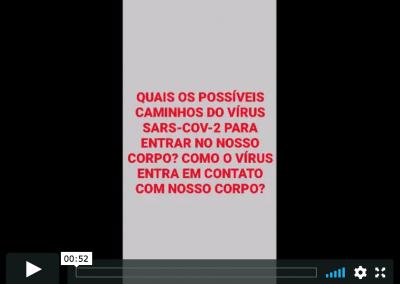 Vídeo de Prevenção: Mary, da UME Dr. José da Costa e Silva Sobrinho