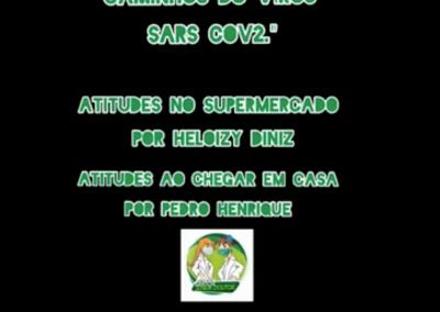 Vídeo de Prevenção: Atitudes no Supermercado, por Heloizy e Pedro, da UME Mário de Alcântara